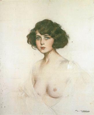 Ramon Casas i Carbó. Nude Julia