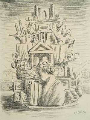 Giorgio de Chirico. Drawing