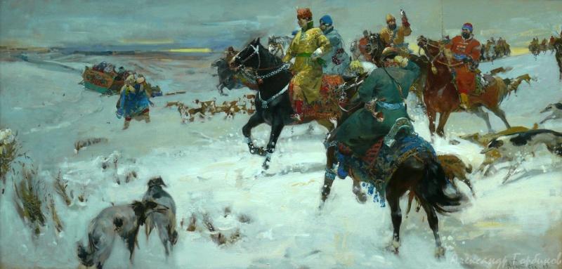 Alexander Vladimirovich Gorbikov. Russian fun.