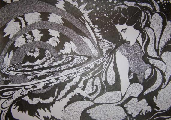 Ксения Хидаева. Богиня Вселенной