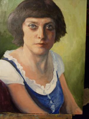 Неля Гурьева. Портрет