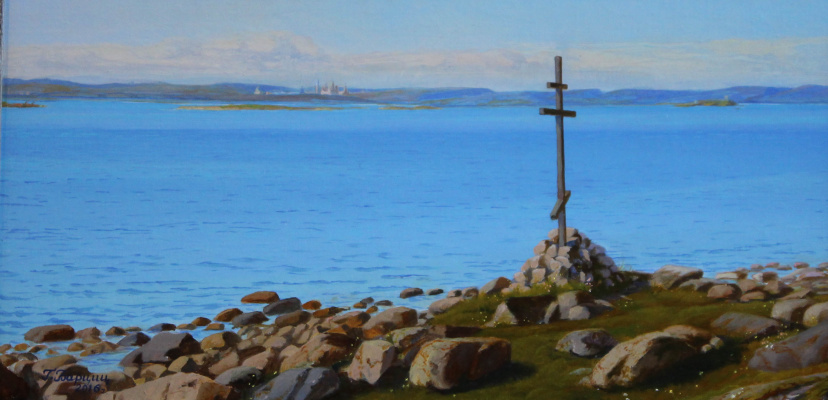 Gennady Shotovich Bartsits. Worship cross. Solovki