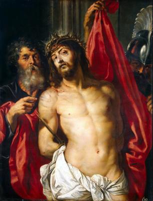 Peter Paul Rubens. Christ in crown of thorns