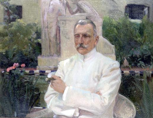 Joaquin Sorolla (Soroya). Portrait of doctor got my eye on Gimeno-and-Cabanas