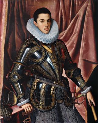 Хуан Пантоха де ла Крус. Филипп Мануэль Савойский