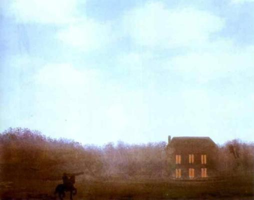 René Magritte. Empire of lights (unfinished)