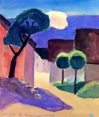 Gabriele Münter. Murnau