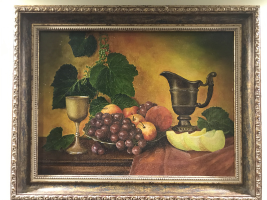 Aram Marinosyan. Still life with fruit