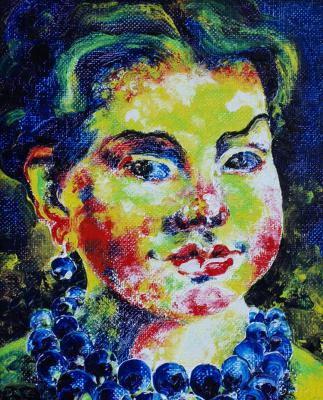 Alexander Ocher Kandinsky-DAE. Alfiza Mubarakovna.
