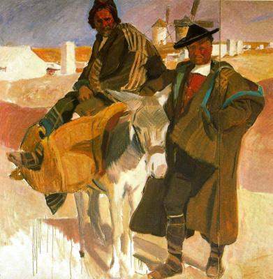 Joaquin Sorolla (Soroya). Types Of La Mancha