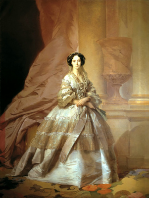 Ivan Kuzmich Makarov. Portrait of Empress Maria Alexandrovna