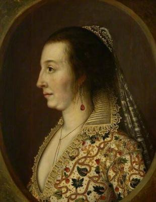 William Larkin. Portrait of Countess Shirley
