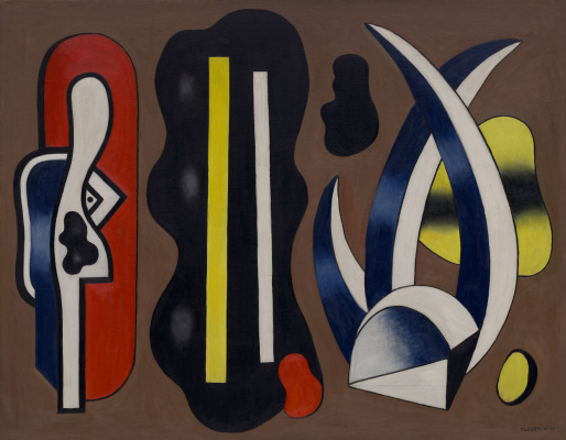 Fernand Leger. The composition with aloe