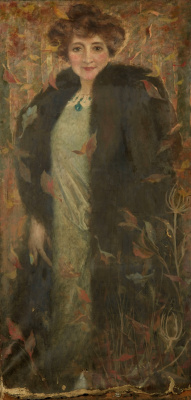 Lucien Levi-Durme. Female portrait.