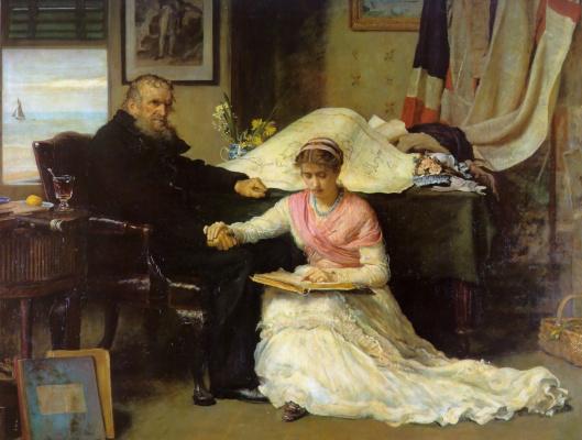 John Everett Millais. The Northwest passage