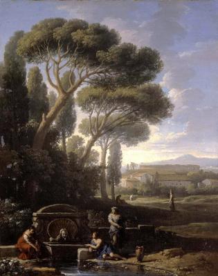 Ян Франс ван Блумен. Итальянский пейзаж