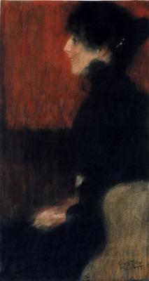 Gustav Klimt. Profile women