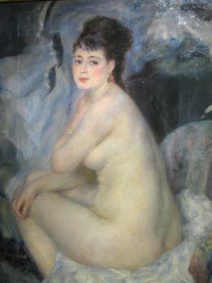 Pierre-Auguste Renoir. Nude