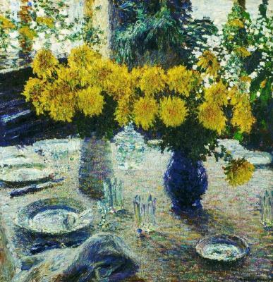Igor Grabar. Chrysanthemum