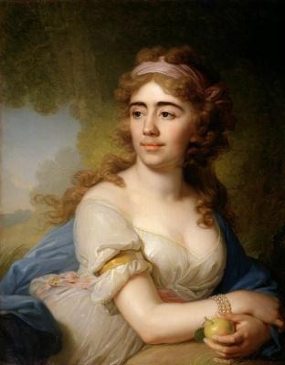 Portrait Of Skobeeva