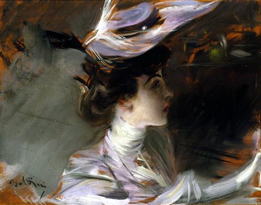 Джованни Болдини. Лина Кавальери