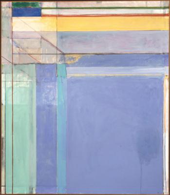 Richard Dibenkorn. Ocean Park No. 79