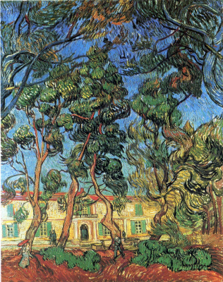 Vincent van Gogh. Hospital in Saint-Remy
