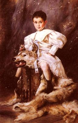 Джозеф Арпад Коппей. Портрет кайзера Карла эрцгерцога Австрии