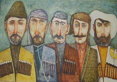 Badri Otarovich Topuria. Old Georgians