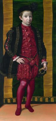 Флорентийский Итальянский. Портрет мальчика