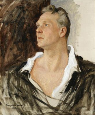 Nikolay Petrovich Bogdanov-Belsky. Portrait Of Fyodor Chaliapin