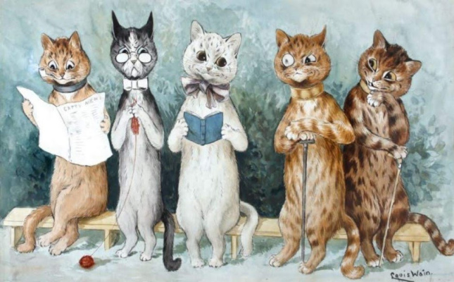 Louis Wain. Debutante and her first season