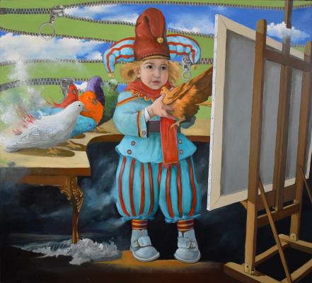 Alexander Giza-Ciobanu. The Young Artist