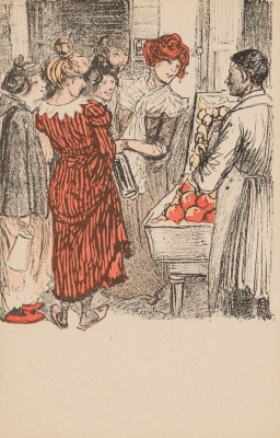 Theophile-Alexander Steinlen. On the market