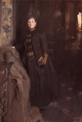 Anders Zorn. Madame Clara Rykoff