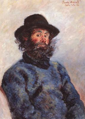 Клод Моне. Портрет Поли, рыбак из Бель-Иль-ан-Мер