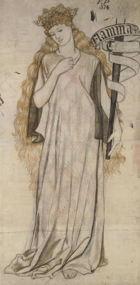 William Morris. Elena (Flame of Troy)