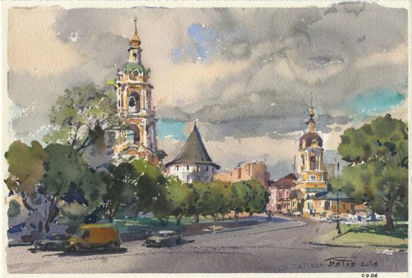 Anton Batov. Novospassky Monastery