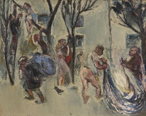 Anatoly Stepanovich Slepyshev. My yard