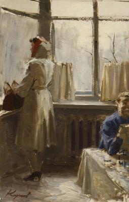 Heliy Mikhailovich Korzhev. Window