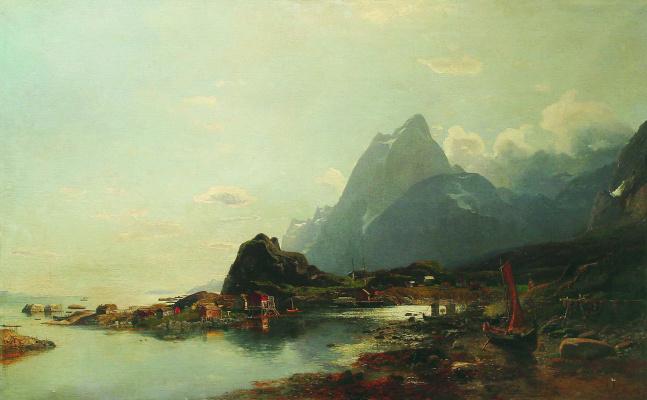 Лев Феликсович Лагорио. Залив. Конец 1850-х
