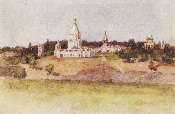 Vasily Ivanovich Surikov. Kolomenskoye
