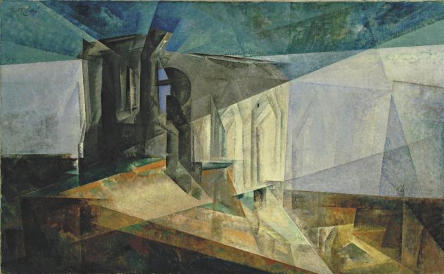 Лионель Фейнингер. Руины у моря