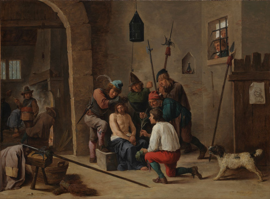 David Teniers the Younger. Christ Crowned with Thorns