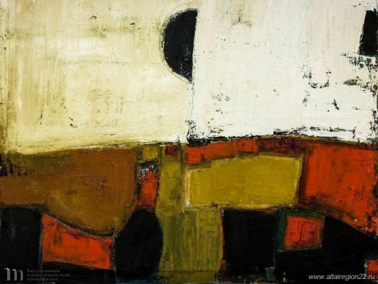 Igor Vasilyevich Kislitsyn. Abstract composition