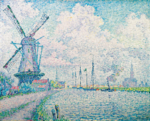 Paul Signac. Channel Oversi