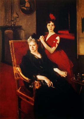 Джон Сингер Сарджент. Госпожа Эдвард Буркхардт и ее дочь Луиза