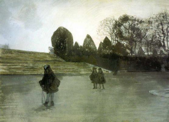 Alexander Nikolaevich Benoit. The walk of a king