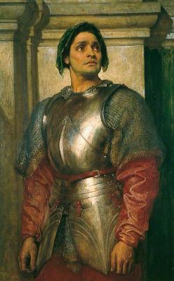 Frederic Leighton. Condottier