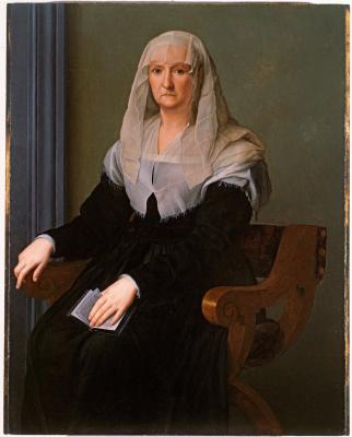 Agnolo Bronzino. Portrait of an Elderly Lady